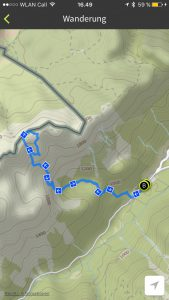 Reiter Alm route